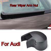 Rear Windscreen Wiper Arm Nut Cap Washer Cover For Audi A3 A4 8P 8V B6 B7 Q7 4L