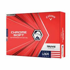 Callaway Chrome Soft Truvis Golf Balls Team USA