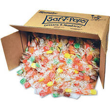 Saf-T Pops Big 25 Lb Bulk Box Approx 1000 Lollipops Safety Pops Suckers Lollipop