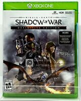 Middle-Earth: Shadow of War Definitive Edition - Xbox One - New | Factory Sealed