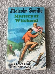 Malcolm Saville Mystery At Witchend Armada 1971 Paperback Edition Lone Pine