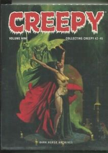CREEPY ARCHIVES VOLUME NINE HARDCOVER COLLECTING 42 THROUGH 45 NEAR MINT