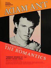 "Adam Ant Market Square  16"" x 12"" Photo Repro Concert Poster"