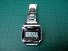 Vintage USSR Russian Digital Wrist-Watch ELEKTRONIKA-5, With Metal Braclet Strap