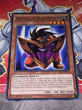 Carte Yu Gi Oh SENTINELLE AU GRAND BOUCLIER LDK2-FRY16 x 3