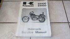 Kawasaki Motorcycle EN 400 450 OEM Service -  Repair Mechanic Tech Manual