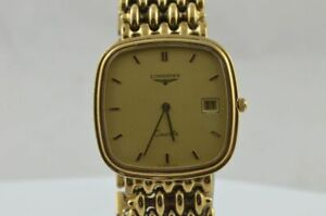 Longines Vintage Women's Watch Quartz Flagship Gold Plated 22MM