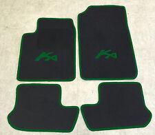 Autoteppich Fußmatten für Ford KA 1 schwarz-grün 1996'-2008' 4teilig Neuware