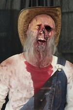 LIFESIZE STANDING HILLBILLY Haunted House Halloween Prop THE WALKING DEAD Corpse