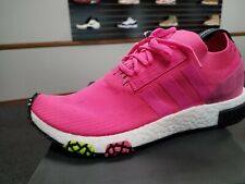 BRAND NEW IN BOX MENS NMD_RACER PK PRIME KNIT BOOST CQ2442  SOLAR PINK