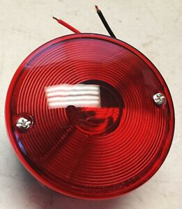 willys 1946-1965 CJ 801157 Left Tail Light, Round, jeep