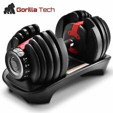 40KG Réglable Haltère Ensemble Pour Bodybuilding / Fitness Domicile Biceps