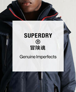 Superdry Mens Factory Second Wind Jacket - Lucky Dip