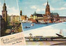 Frankfurt a.M. Mehrbildkarte gl1962 C0126