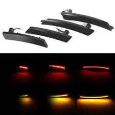 Smoked Lens Amber/Red Full Led Side Marker Light Set For 2007-13/14 Mini Cooper
