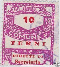 # TERNI: MARCA DIRITTI SEGRETERIA L.10