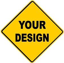 Design Your Own - Yellow Diamond Road Sign