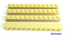 LEGO® Nr- 6075179 / 1x12 Grundbausteine beige / 4 Stück