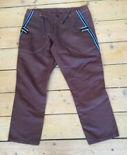 MARITHE FRANCOIS GIRBAUD  Cropped Brown Trousers Age 16. BNWT