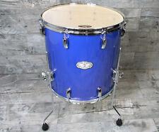 """Pearl Vision VX Birke / Linde 16"""" x 16"""" Floor Tom Drums Schlagzeug RB Blue"""