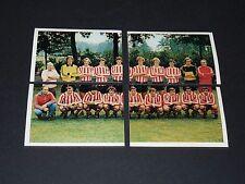 284-285-286-287 PSV EINDHOVEN UEFA C3 FOOTBALL BENJAMIN EUROPE 1980 PANINI