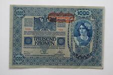AUSTRIA 1000 KRONEN 1902 SHARP DETAILS B27 BLEI - 42