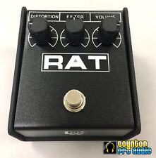 PROCO RAT 2 DISTORTION PEDAL :SAME DAY FREE SHIPPING: *w/ NEW std 2.1mm 9v Jack*