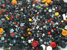 Lego 1kg Wheels - Random Tyres, Axels, Wheel - Genuine - Bulk Job Lot