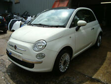 2013 Fiat 500 1.2 Lounge White Unrecorded Damaged Salvage