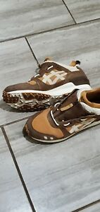 LIKE Men's Asics Gel-Lyte MT Tan Brown Birch Lifestyle Shoes Size 10,MSRP $120+!