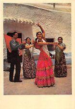 BR55029 Cueva de Los Amaya en el sacromonte Granada Folklore costume spain 3