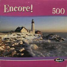 """ENCORE """"CAPE ELIZABETH, MAINE"""" COMPLETE 500 PIECE PUZZLE BY ROSEART"""