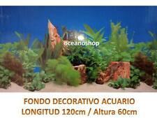 FONDO DECORATIVO de Amazonas longitud 120cm altura 60cm terrario pecera D462