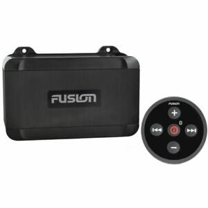 Fusion MS-BB100 Marine Boat Black Box Stereo System w/Bluetooth Wired Remote