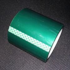 1 Roll 0.08mm*100mm*33m Green PET Tape Hi-Temp Resistant For PCB Solder Mask