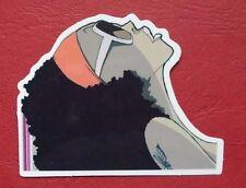 "Sticker Aufkleber ""Sunny Girl"" Stickerbomb Laptop Skateboard"