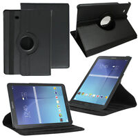 Etui Housse Rotatif 360° Rotation Tablet NOIR Samsung Galaxy Tab E 9.6 T560 T561