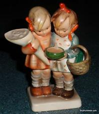 "1950s ""Going To Grandma's"" Goebel Hummel Figurine #52/0 TMK2 FULL BEE - RARE!"