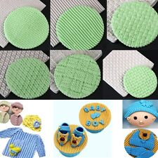 Baby Knit Texture Silicone Fondant Mould Cake Decorating Sugarcraft Baking Mold