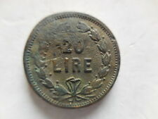 peso monetale da 20 lire