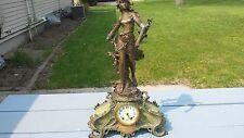 Vintage Ornate 1922 Seth Thomas Clock Trophy Illinois Athletic Club Marathon