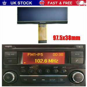 Repair Service, Nissan Qashqai radio AGC-0070 RF or AGC-0071 RF New LCD Screen