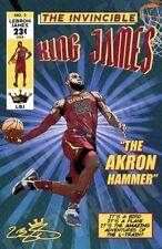 LeBron James King Comic Book Style Poster Original Art Print