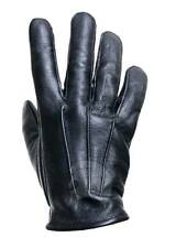 Dress Gloves - Police Search Black XS S M L XL - Leather