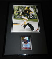 Martavis Bryant Signed Framed 11x17 Rookie Card & Photo Display PANINI Steelers