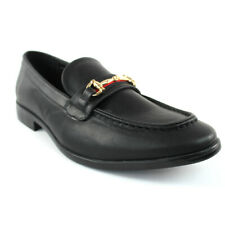 Black Buckle Slip On Moccasins Men's Dress Fashion Shoes Casual /Formal PUCCI 01