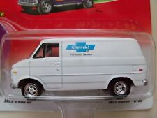JOHNNY LIGHTNING - BOOGIE VANS - CHEVROLET PARTS AND SERVICE 1977 CHEVY G-20 VAN