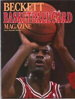 Beckett Basketball Magazine Issue #1 Michael Jordan Cover March/April 1990