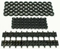 ☀️NEW Lego 17.5mm x 6mm Tire, Wheel and Square Axles Bulk Lot - 100 Pieces Total