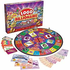 Logo Billionaire Board Game Family Christmas Party Game 2-6 Players - NEW